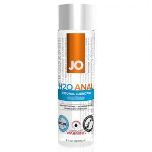 Anal H2O Lubricant Warming 120 ml System Jo 40110