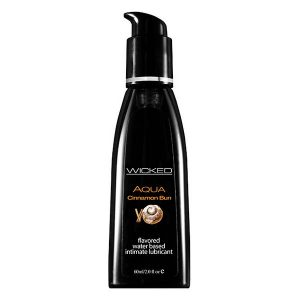 Aqua Cinnamon Bun Waterbased Lubricant 60 ml Wicked 3423