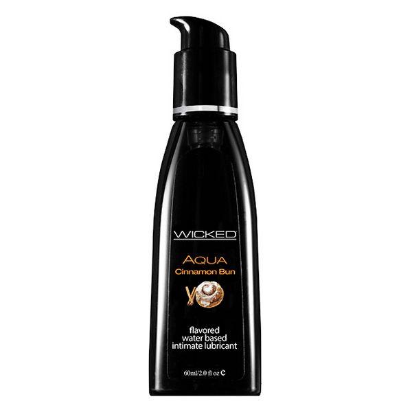 Aqua Cinnamon Bun Waterbased Lubricant 60 ml Wicked 3423