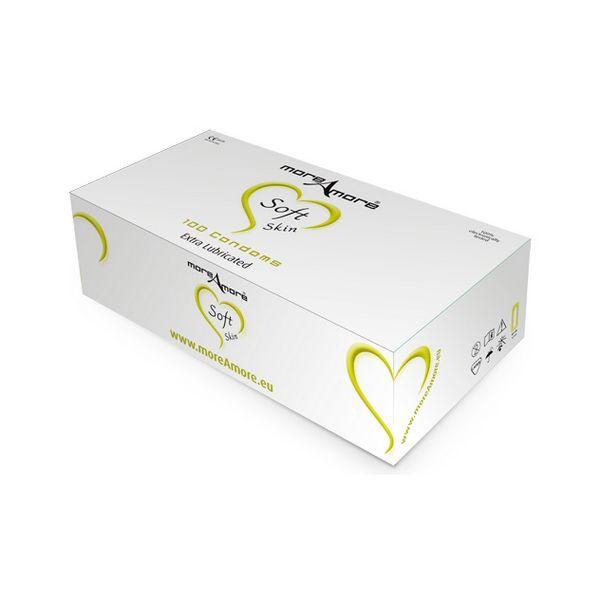 Condom Soft Skin 100 pcs MoreAmore E21035
