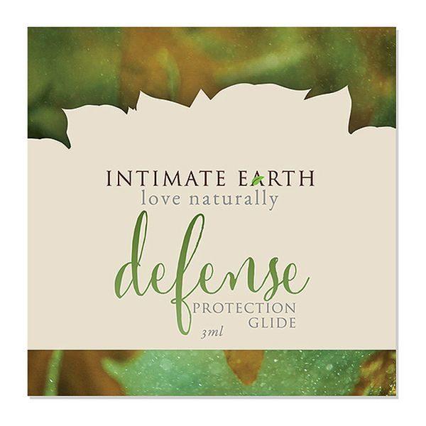 Förebyggande glidmedelsfolie 3 ml Intimate Earth 6523