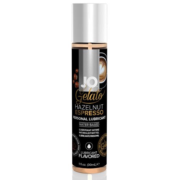 Gelato Hazelnut Espresso Lubricant Water Based 30 ml System Jo SJ41021