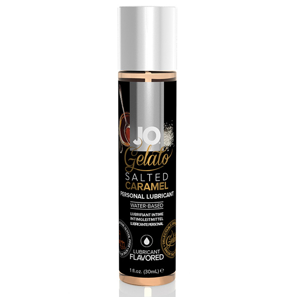 Gelato Salted Caramel Lubricant Water Based 30 ml System Jo SJ41023