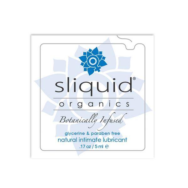 Glidgelskudde Organics Natural 5 ml Sliquid 722