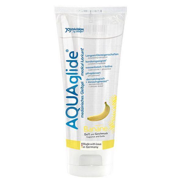 Glidmedel Aquaglide med bananarom (100 ml) Joydivision 17923