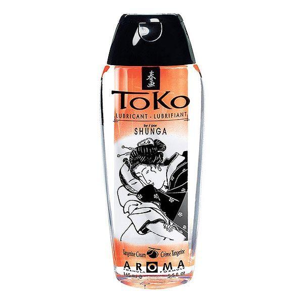 Glidmedel Toko med tangerinarom Shunga 9064040