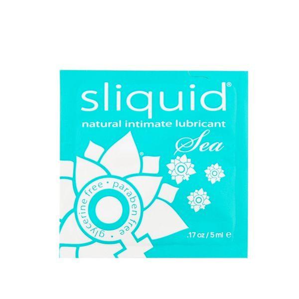 Glidmedelskudde Naturals Sea 5 ml Sliquid 1132
