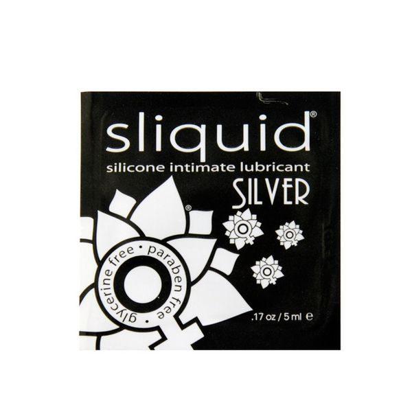 Glidmedelskudde Naturals Silver 5 ml Sliquid 43