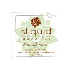 Glidmedelskudde Organics Oceanics 5 ml Sliquid 913