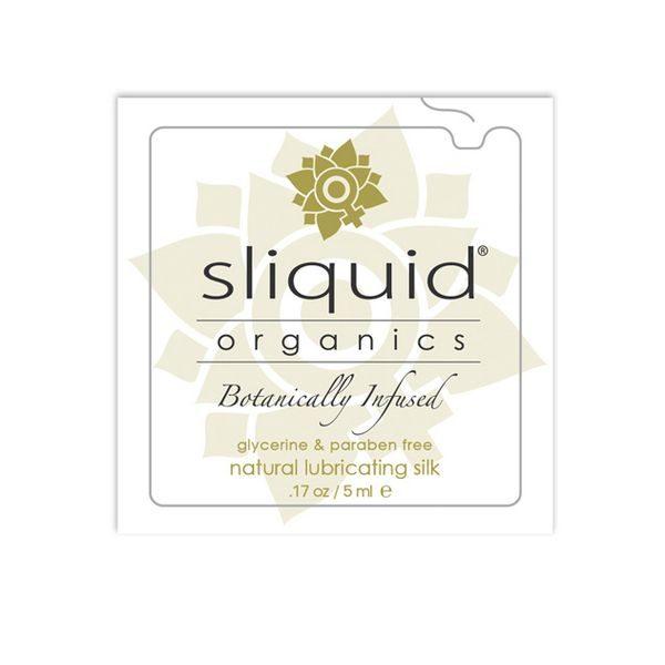 Glidmedelskudde Organics Silk 5 ml Sliquid 746