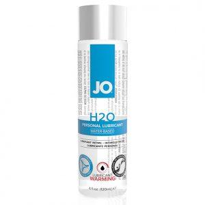 H2O Lubricant Warming 120 ml System Jo 791