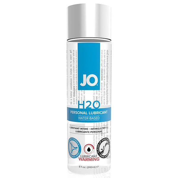 H2O Lubricant Warming (240 ml) System Jo 40080