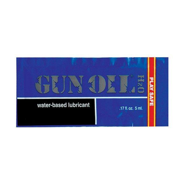 H2O Vattenbaserat Glidmedel 5 ml Gun Oil 203