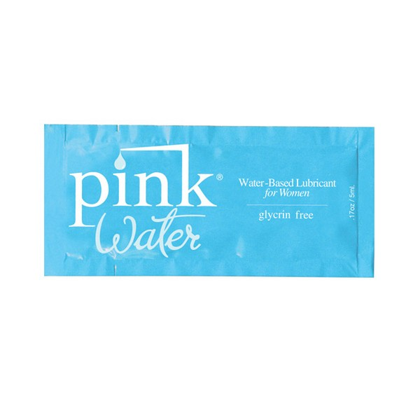 H2O Water Based Lubricant 5 ml Pink E22443
