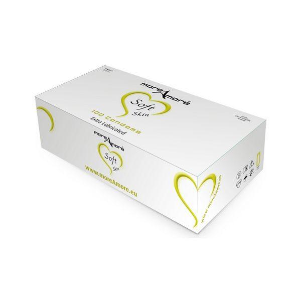 Kondom Soft Skin 100 St MoreAmore E21035