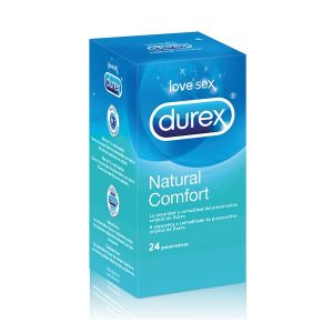 Kondomer Durex Natural Plus (24 st)