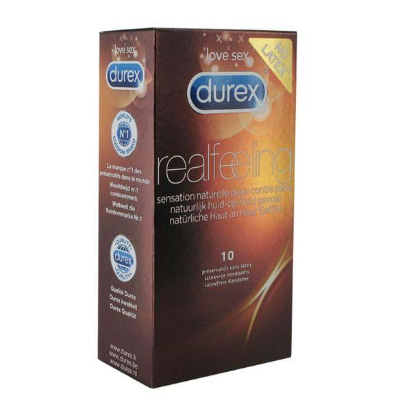 Kondomer Real Feeling 10 st. Durex 3848