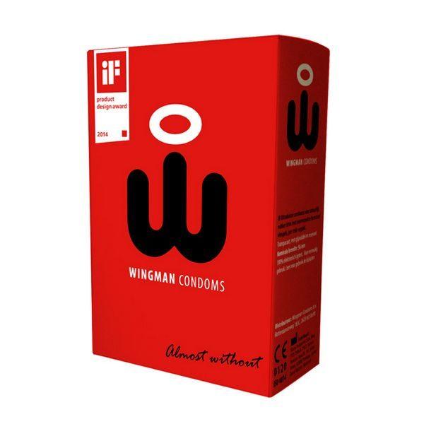 Kondomer Wingman 8 st. Wingman 40398