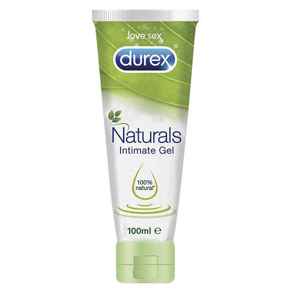 Naturals Intimate Durex Lubricating Gel 100 ml