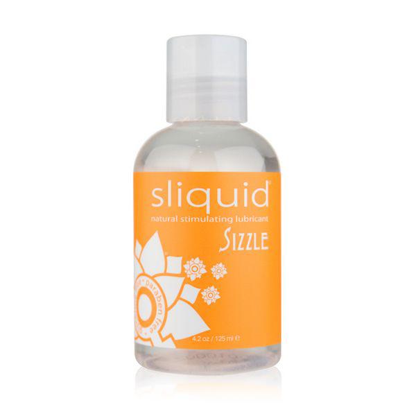 Naturals Sizzle Lubricant 125 ml Sliquid 9305