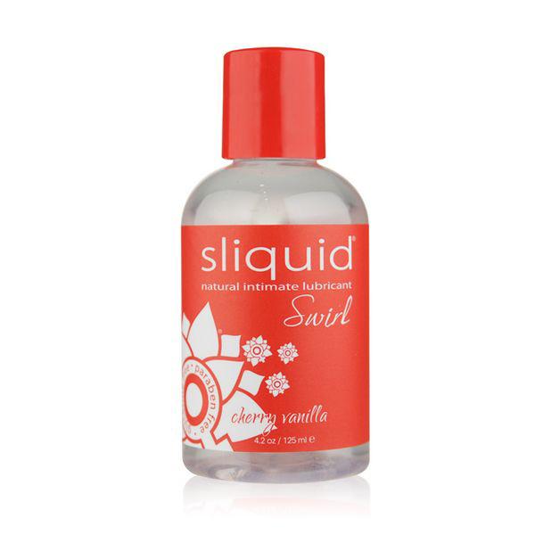 Naturals Swirl Lubricant Cherry Vanilla 125 ml Sliquid 9350
