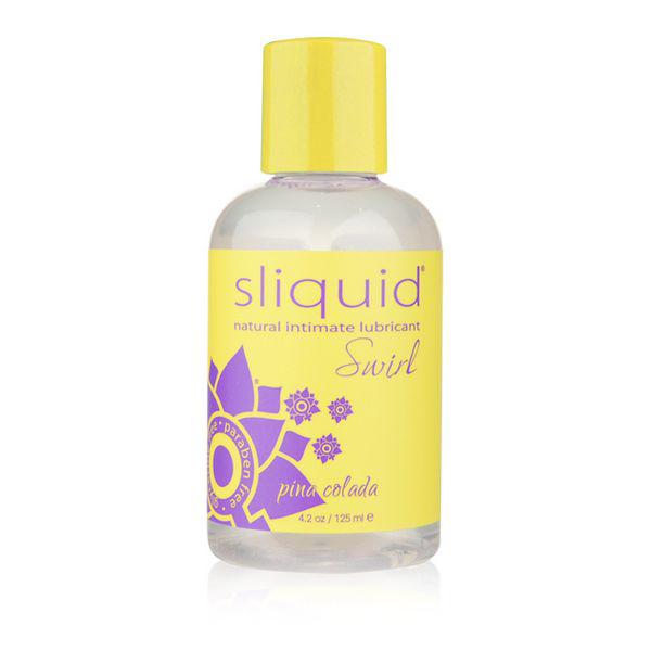 Naturals Swirl Lubricant Pina Colada 125 ml Sliquid 9183