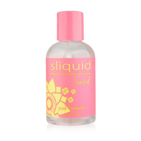 Naturals Swirl Lubricant Pink Lemonade 125 ml Sliquid 9169