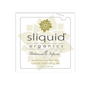 Organics Silk Lubricant Pillow 5 ml Sliquid 746