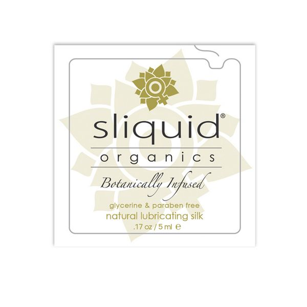 Organics Silk Lubricant Pillow 5 ml Sliquid 746
