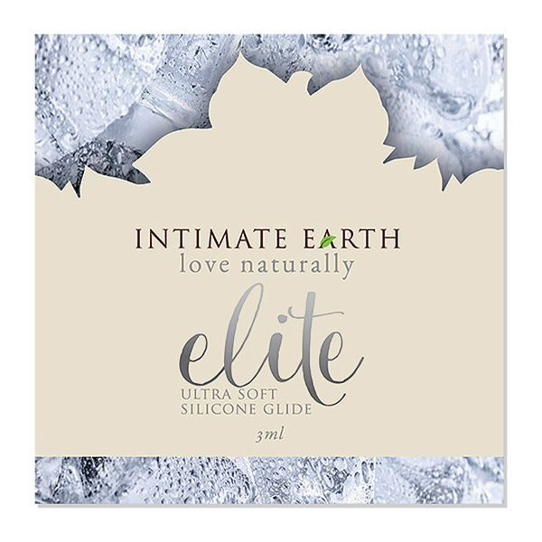 Silikonbaserad glidmedelsfolie Elite 3 ml Intimate Earth 6578