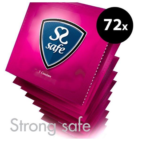 Strong Condoms (72 pcs) Safe E25162