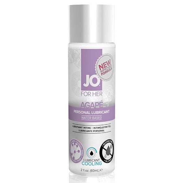 Svalkande glidmedel Agape för kvinnor 60 ml System Jo 263