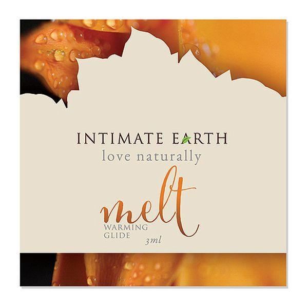 Värmande glidmedelsfolie Melt 3 ml Intimate Earth 6516