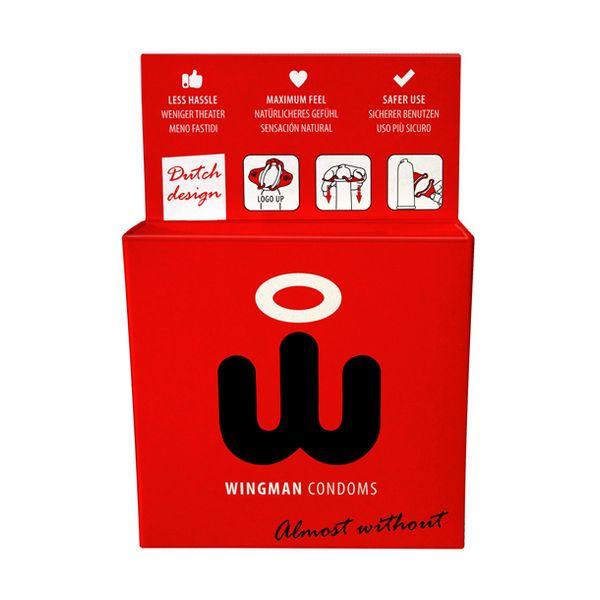 Wingman Condoms 3 Pieces Wingman E24696