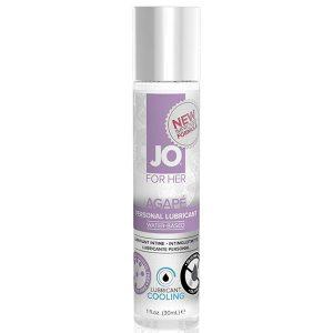 Women Agape Lubricant Cool (30 ml) System Jo SJ41062
